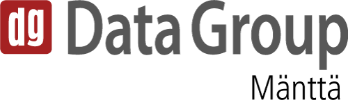 Data Group Mänttä -logo